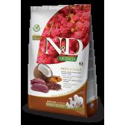 Корм Farmina N&D для взрослых собак для здоровья кожи и шерсти с олениной, кокосом и киноа, беззерновой